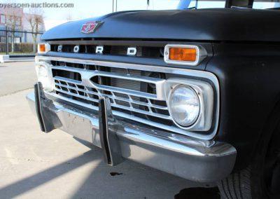 World of Wheels 1966 Ford F100 te koop grille