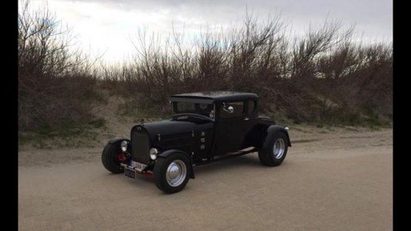 worldofwheels oldtimer ford model a 1928 hotrod links voor